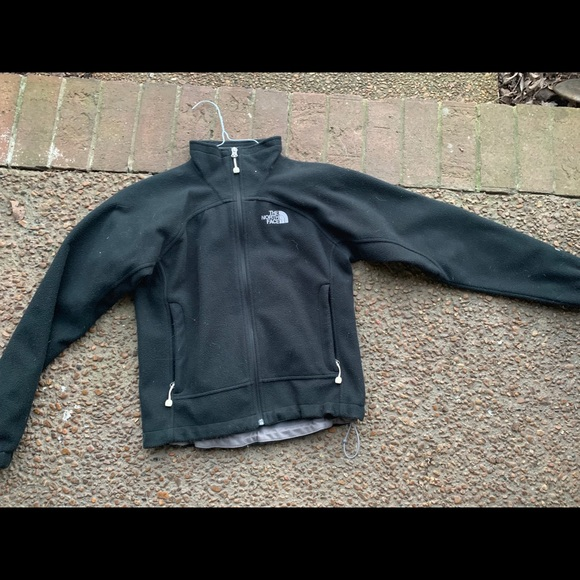 Black north face jacket extra small